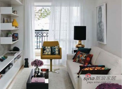 白色是最好的客厅主色调