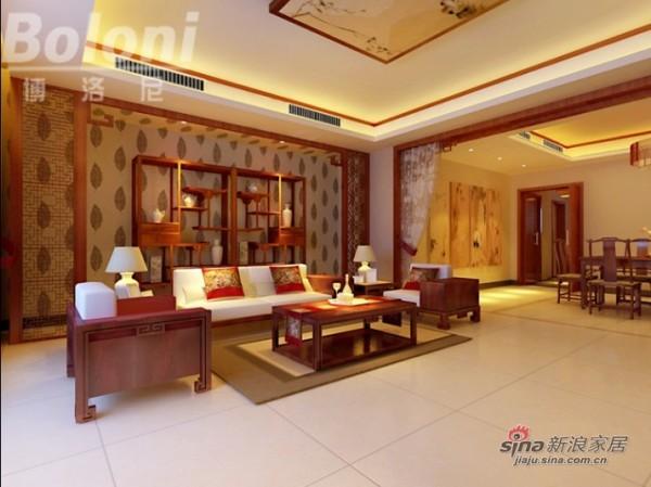 中式风格客厅2