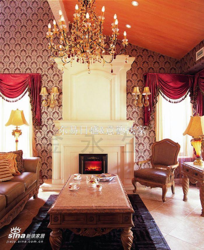 欧式 别墅 客厅图片来自用户2746953981在壹仟栋35的分享