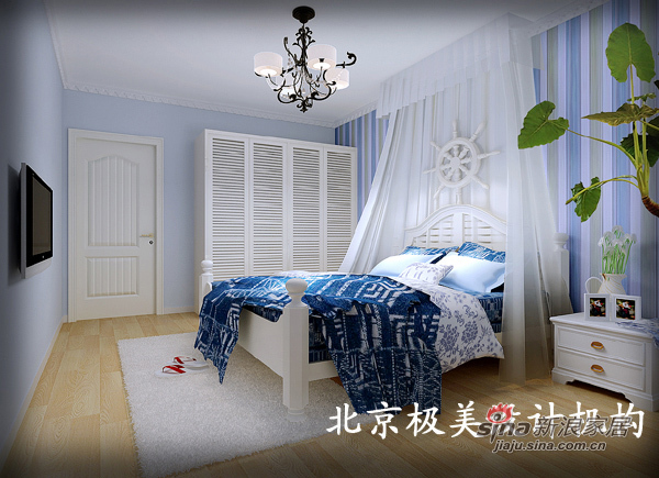 田园 二居 卧室图片来自用户2737946093在地中海的家15的分享