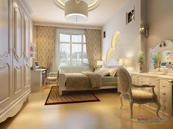 保利花园主卧室简欧设计