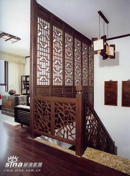 中式 跃层 楼梯图片来自用户2748509701在中式家居58的分享