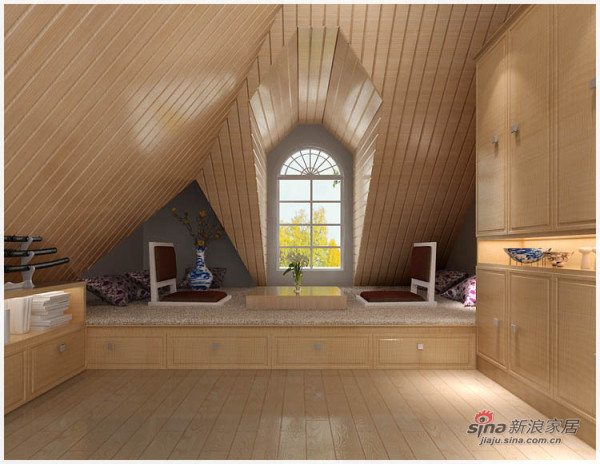 东方夏威夷--复式客卧室效果图展示