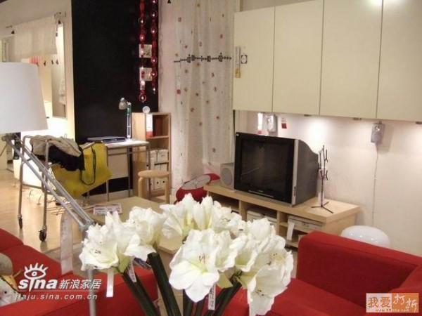 简约 一居 客厅 80后图片来自用户2738829145在北京宜家样板间系列五90的分享