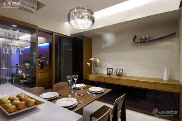 北欧 二居 餐厅图片来自幸福空间在在北欧简约中混搭德式精工时尚风情41的分享