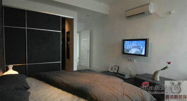 简约 三居 卧室图片来自用户2557979841在远大115平米 现代风格62的分享