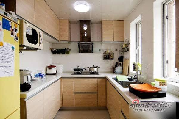 简约 loft 厨房图片来自用户2738813661在旧房改造 8万半包126平时尚个性窝46的分享