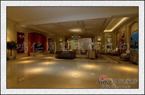 欧式 别墅 客厅图片来自用户2557013183在鸣仁万城华府300平35的分享