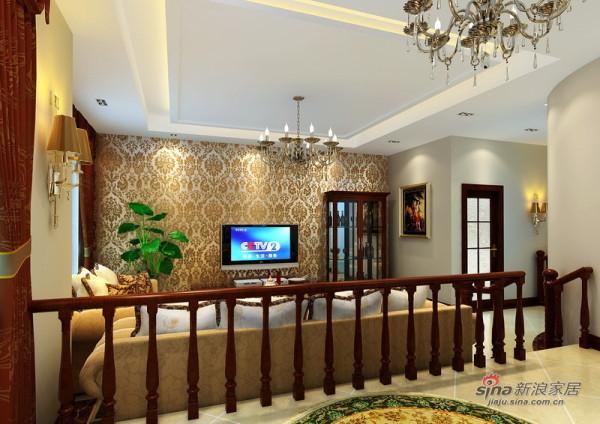 以人为本打造370平温馨奢华美式别墅风情