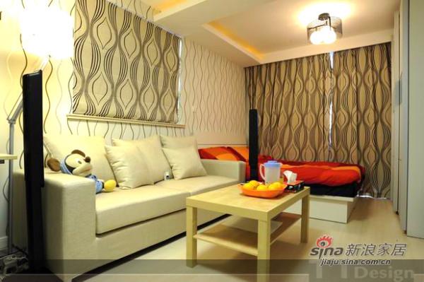 合理利用空间 小一房变精美单身公寓