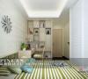 浅绿色小孩房设计