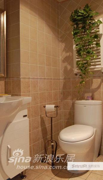 欧式 别墅 卫生间图片来自用户2746889121在田园风格美式乡村别墅实景照片66的分享