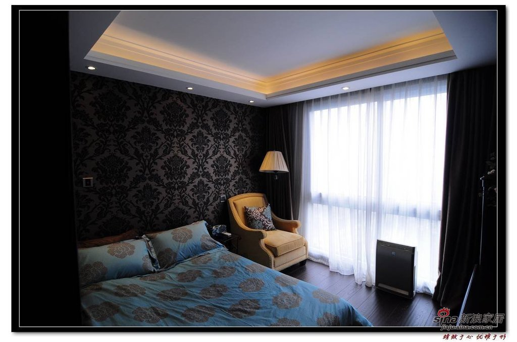 欧式 一居 卧室图片来自用户2746889121在37平小夫妻新古典一房一厅25的分享