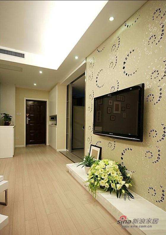 简约 二居 客厅图片来自用户2737735823在4.8万装83平清新简约2居室81的分享