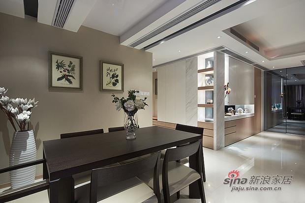 现代 二居 餐厅图片来自佰辰生活装饰在15万营造86平时尚简约婚房78的分享