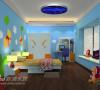 儿童房-2效果图方案