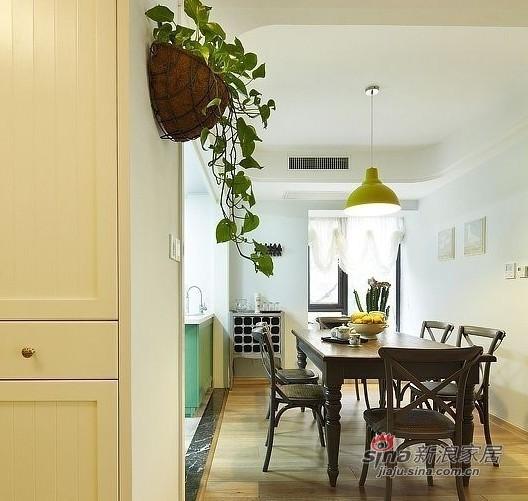 美式 四居 餐厅图片来自用户1907686233在硬装12W装美式简约150平豪宅33的分享