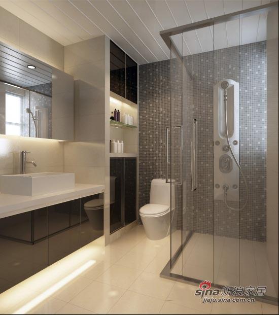 简约 二居 卫生间图片来自用户2737759857在109平米简约舒适2居室14的分享