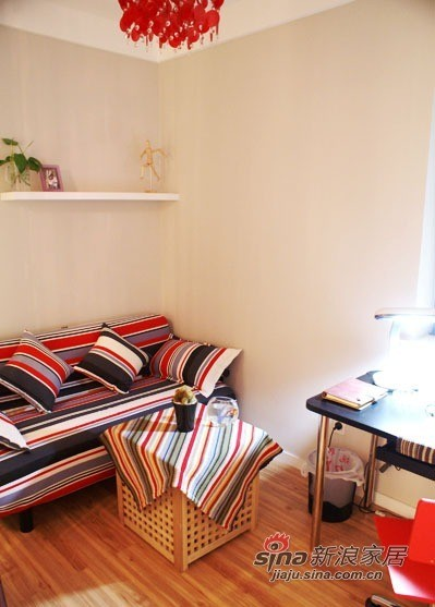 简洁清爽书房