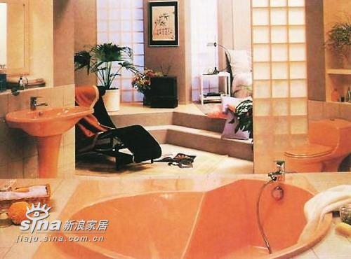 豪华的浴室,带给人的自然是豪华的享受。只是有点让人望尘莫及喽