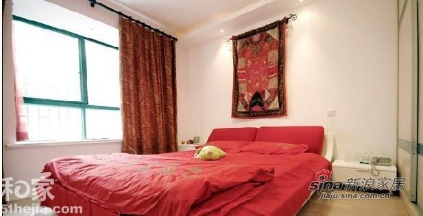 其他 一居 卧室图片来自用户2558757937在十万元装出幸福甜蜜21的分享
