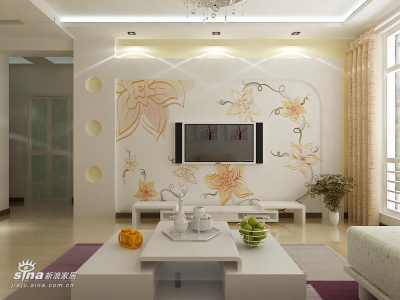 简约 二居 客厅图片来自用户2739378857在银亿阳光城65的分享