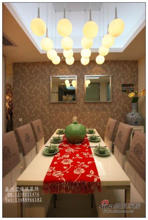 中式 四居 餐厅图片来自用户1907659705在16万搞定180平新中式新居94的分享