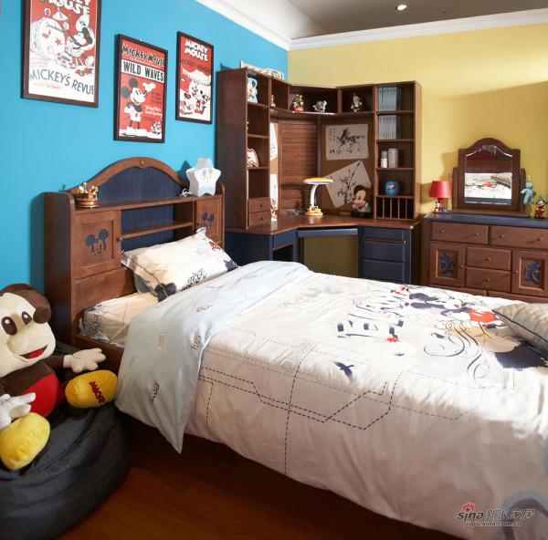 儿童房-松木家具2