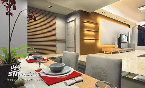 简约 三居 餐厅图片来自用户2558728947在九重天3栋17楼35的分享