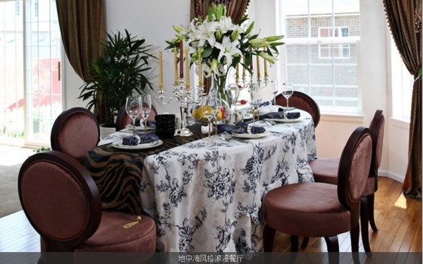 地中海风格浪漫餐厅