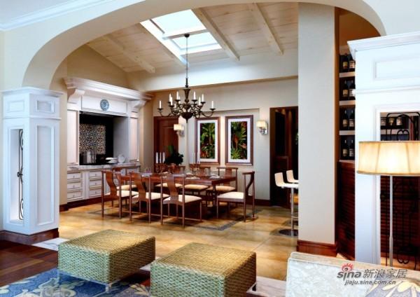 150平田园客厅卧室