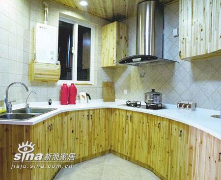 简约 三居 厨房图片来自用户2556216825在三室二厅的婚房实景48的分享