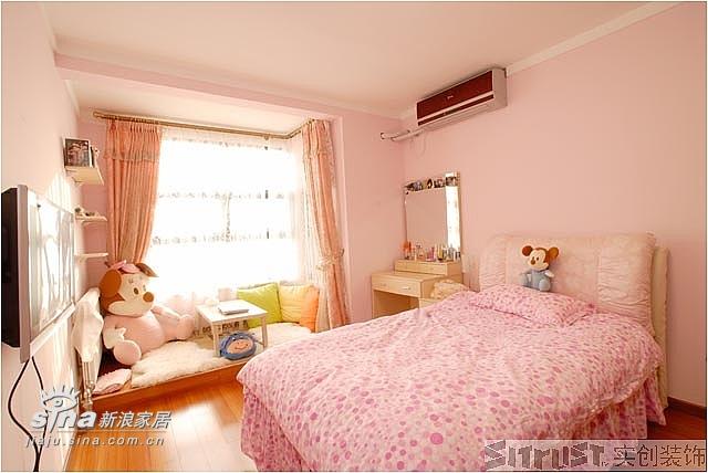 简约 四居 卧室图片来自用户2558728947在实创装饰远洋山水27的分享