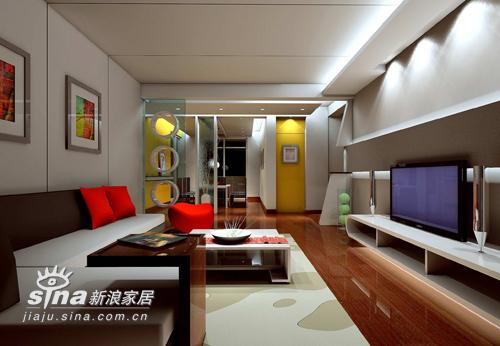 简约 二居 客厅图片来自用户2737735823在设计作品68的分享