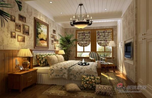 简约 别墅 卧室图片来自用户2737950087在230平简约欧式风格别墅33的分享