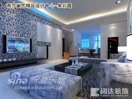 简约 三居 客厅图片来自用户2739153147在阔达装饰之融科橄榄城89的分享