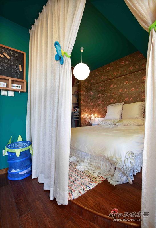 其他 二居 卧室图片来自用户2558746857在【高清】80后小夫妻87平异域风情21的分享