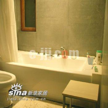 简约 一居 卫生间图片来自用户2738829145在禅意的银城17的分享