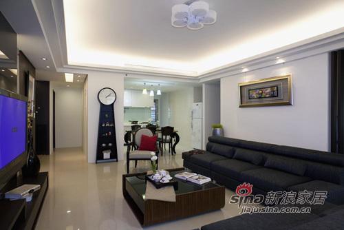 简约 四居 客厅图片来自用户2738845145在简约不失大气之家34的分享