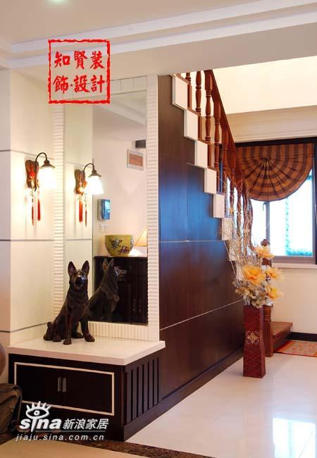 欧式 四居 楼梯图片来自用户2557013183在知贤装饰二26的分享