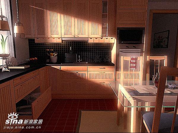 欧式 复式 厨房图片来自用户2746869241在厨房样板间52的分享