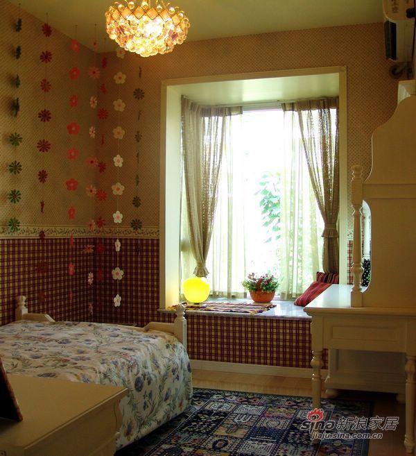 田园 二居 卧室图片来自用户2557006183在90平简约田园新居79的分享