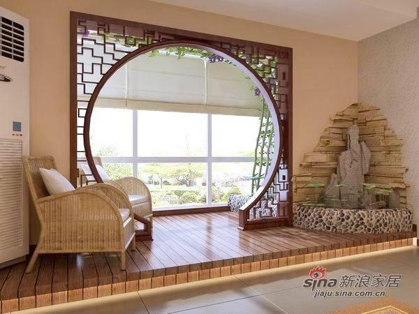 中式 一居 客厅图片来自用户1907661335在6万打造彰显主人气质的108平儒雅大宅50的分享