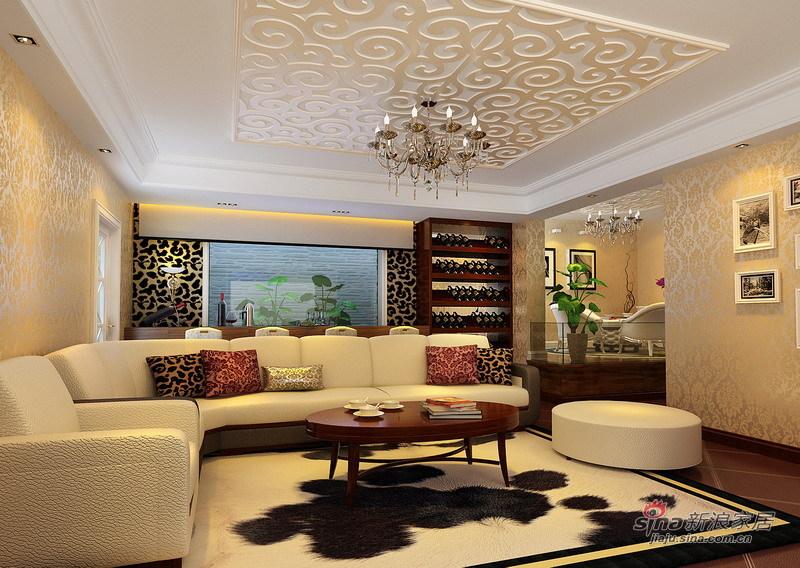 欧式 别墅 客厅图片来自用户2557013183在绝对惊艳280平简欧品质别墅生活73的分享