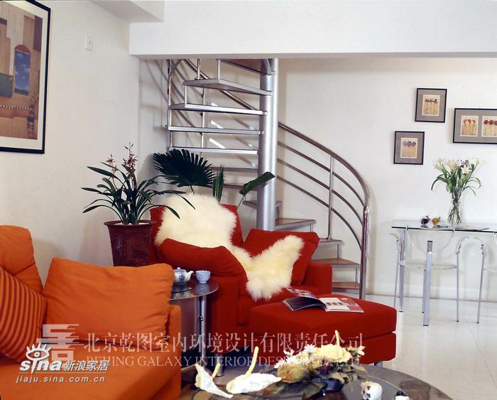 简约 复式 客厅图片来自用户2737786973在团结湖公寓27的分享