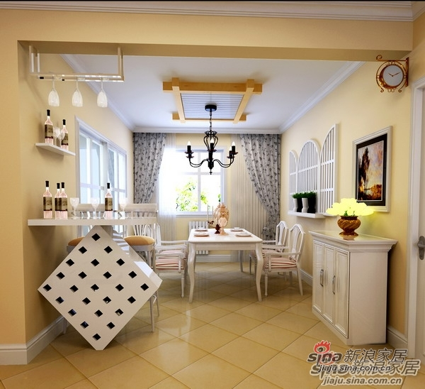 田园 四居 客厅图片来自用户2737946093在田园风格打造140平温馨简洁之家27的分享