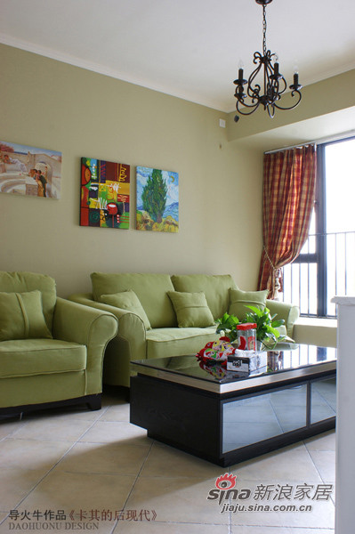 素色的家具陈设