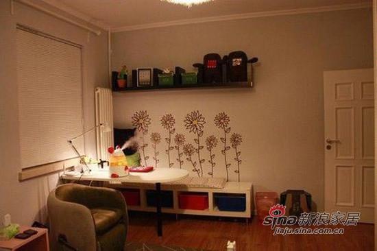 很满意壁画呢,书桌也简洁而实用,价格也不