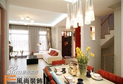 风尚装饰 别墅 客厅