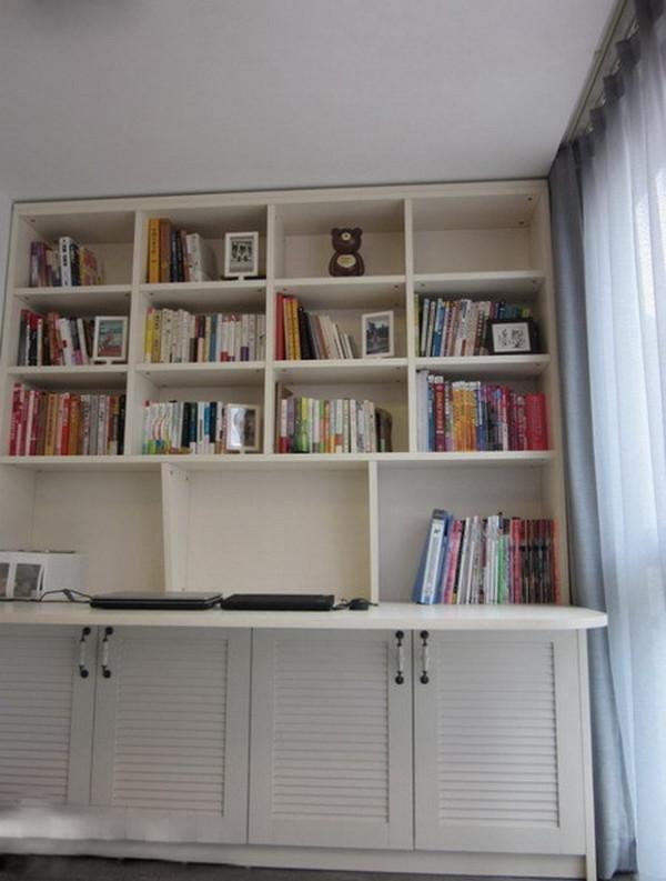 木工制作的书柜